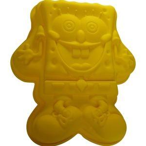 Silicone SpongeBob Cake Dessert Pan Mold Large